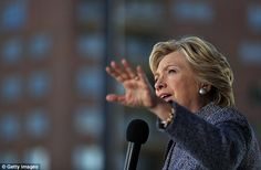 Hillary Clinton is exploiting Donald Trump's debate admission that not paying taxes would make him 'smart,' telling audiences the societal ills he's campaigning on might not be an issue if billionaires like him were giving the government its due Hillary Clinton 2016, Hillary Rodham Clinton, Donald Trump Debate, Clinton Foundation, Mr President, Presidents, America, Film, Concert