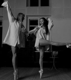 Arte de la danza, Audrey Hepburn en pointe
