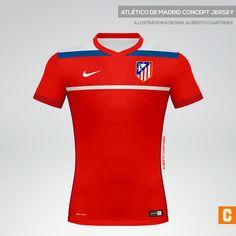 Atlético de Madrid Concept Kit on Behance