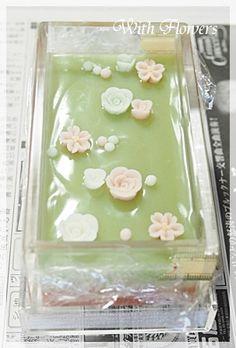 デザインソープクラス レッスンレポ|横浜・元町中華街駅 手作り石けん教室 With Flowers