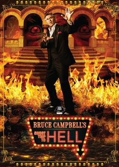 Bruce Campbell's short trip to hell