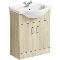 Orchard Eden oak vanity unit and basin