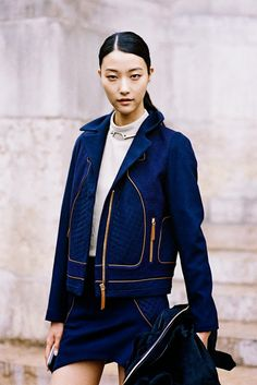 Vanessa Jackman: Paris Fashion Week SS 2015....Ji Hye
