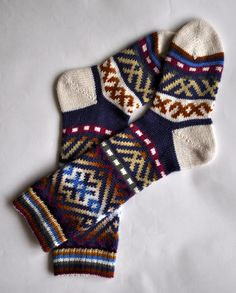 For the one with cold toes: extra thick hand knit socks.