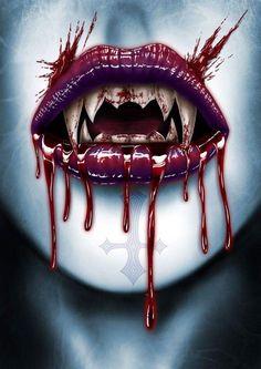 Vampire Art by Andrew Dobell @ deviantart