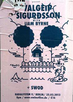 postersofberlin: Valgeir Sigurdsson at... - Little White Lies