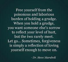 No more grudges