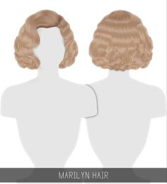 MARILYN HAIR + TODDLER & CHILD Curly glamorous hairstyle, inspired by Marilyn Monroe! Toddler & Child versions available; Enabled for all genders; Sims 4 Curly Hair, Short Curly Hair, Curly Hair Styles, Afro Hair Sims 4 Cc, Toddler Curly Hair, Sims 4 Mods Clothes, Sims 4 Clothing, Sims 4 Cas, Sims Cc