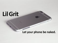 Nathan Cobb is raising funds for Lil Grit: Let your phone be naked. on Kickstarter! Lil Grit: A subtle but effective anti-slip accessory for beautiful phones. (iPhone Galaxy HTC One, and more. Htc One, Apple Products, Naked, Geek Stuff, Let It Be, Apple Iphone, Iphone 6, Video Thumbnail, Modern Desk