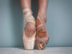 And your feet decide that you're probs never going to wear sandals again. | 16 Photos That Prove Ballerinas Are Strong AF