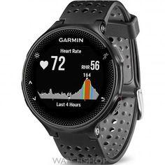 Unisex Garmin Forerunner 235 HR GPS Bluetooth Alarm Chronograph Watch 010-03717-55