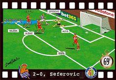 Real Sociedad-Getafe, Seferovic GOL