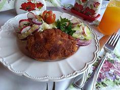 Pečené horné kuracie stehná plnené syrom (fotorecept) - Recept Horn, Meat, Hungarian Recipes, Horns, Antlers