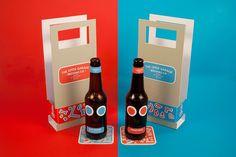 Con este packaging, puedes personalizar tus botellas. ¡Mr. Potato cervecil!