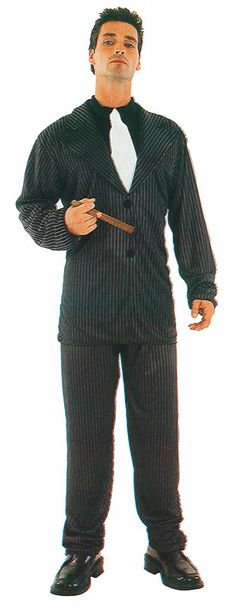 Gangster Suit : Get It On Fancy Dress Superstore, Fancy Dress & Accessories For The Whole Family. http://www.getiton-fancydress.co.uk/adults/gangsterspimps/gangstersuitpackagedbudget#.UwFims4ry10