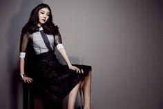Yuna Kim with Harper's Bazaar Korea!