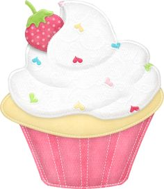 Cute Cliparts ❤  ●•‿T✿P⁀Cupcakes‿✿⁀•●
