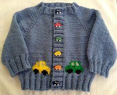 Diy Crafts - knitting,babyknitting-Ravelry: Project Gallery for Little Coffee Bean Cardigan pattern by Elizabeth Sm. Cardigan Bebe, Baby Boy Cardigan, Knitted Baby Cardigan, Hand Knitted Sweaters, Baby Sweaters, Baby Cardigan Knitting Pattern Free, Baby Boy Knitting Patterns, Cardigan Pattern, How To Start Knitting