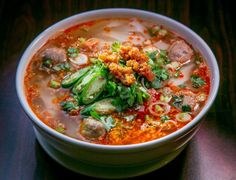 The kao soy noodle soup at Sue's Kitchen in El Sobrante. Photo: John Storey, Special To The Chronicle Kitchen In, North Beach, Noodle Soup, Fried Rice, San Francisco, Curry, Salad, Restaurant, Eat