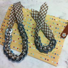 Colares e pulseiras inovadoras!