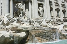 The Trevi Fountain i would love to visit paris great prize Trevi Fountain, Mount Rushmore, Rome, Italy, Statue, Mountains, Travel, Painting, Paris