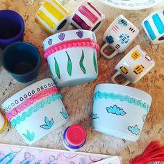 Missão: alegrar e colorir muitos lares criativos! #lojadocola #craftdocola para o Bazar SOUK dias 24 e 25 em São Seba