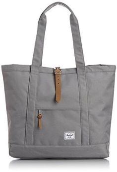Amazon.com: Herschel Supply Co. X-Large Market Tote, Grey, One Size: Clothing