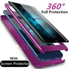 c04fe8ba7 Luxury 360 Degree Full Cover Case for Samsung Galaxy S9