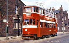 Former London Feltham no 542 on Tong Road 1956 Leeds City, Light Rail, Civil Aviation, My Town, Public Transport, Coaches, Locomotive, Old Cars, Old Photos