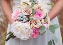 beautiful and unique bouquet, LOVE!