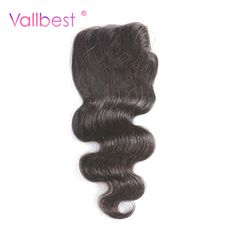 Closures Hair Extensions & Wigs Ali Sky Malaysian Loose Wave 4x4 Free/middle/three Part Lace Closure Pre Plucked With Baby Hair Non Remy 1b 130% Density Black