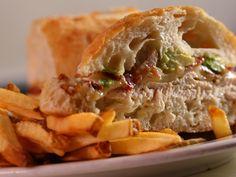 Chicken Avocado and Bacon Sandwich