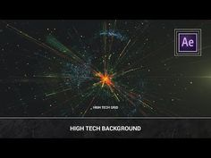After Effects - High Tech Background (Trapcode Particular Plexus) Tutorial - YouTube