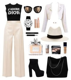 """J'adore Dior"" by theglitterykitten on Polyvore featuring Christian Dior, The Row, Chanel, Gucci, rag & bone, Rosendahl and Modern Bride"
