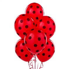 Bright Red Balloon w
