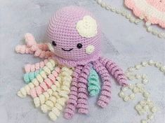 Preemie octopus with heart Crochet Octopus Preemie doll Amigurumi octopus Stuffed Octopus rattle Baby Toy Baby Gift Octopus Crochet Toy Preemie octopus with heart Crochet Octopus Preemie doll Amigurumi octopus Stuffed Octopus rattle Bab - goodgame Preemie Crochet, Crochet Bear, Crochet Gifts, Cute Crochet, Crochet Toys, Octopus Crochet Pattern, Crochet Patterns, Knitting Patterns, Preemie Octopus