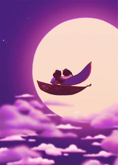 """Where dreams come true — """"A whole new world A dazzling place I never knew..."""