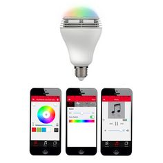 My design inspiration: Playbulb Color Wireless Speaker on Fab.