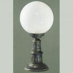 Tuscanor - Traditional Exterior Pedestal Light