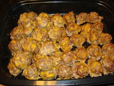 Low Carb Breakfast Sausage Balls, and a great website for low carb breakfast ideas!