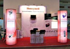 Honeywell Analytics Exhibition Stand in Bahrain, 2007  Exhibiting abroad? Head to www.prestige-system.com  or http://www.prestige-system.com/exhibiting-abroad/exhibiting-abroad-hints-tips/