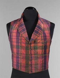 American Mens Vest 1850-1860