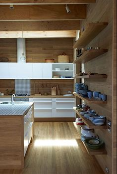 kitchen open shelves 31