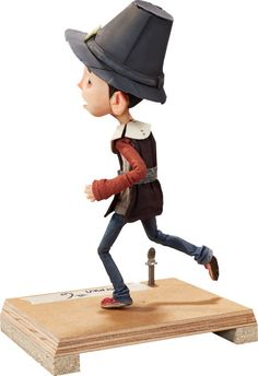 Animation Art:Maquette, ParaNorman Pilgrim Normal Original Animation Puppet (LAIKA,2012).... Image #2