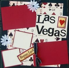 Las Vegas scrapbook page layouts | Add it to your favorites to revisit ...
