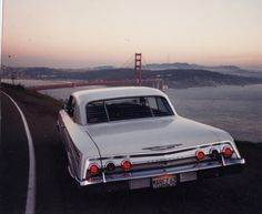 62 Impala - my first car was cherried out - baby moons, 8 track cassette, Alpine speakers, 283 engine...loved this car.