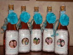 Personalized Bridesmaid Gifts - Custom Wine Labels - Will you be my Bridesmaid Maid of Honor Bridal Party. $36.00, via Etsy.