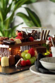 Schokobar-Tischdeko mit Blogparade #SchokoladenGenüsse – DieFoodalchemistin