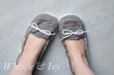 DIY: women's boat slippers