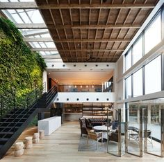 Interior design of Yoyogi Village/Code Kurkku by Wonderwall. Bungalows, Exterior Design, Interior And Exterior, Casas Containers, Wonderwall, Deco Design, Cafe Design, Store Design, Feng Shui